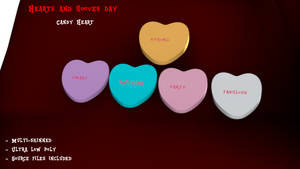 [DL] Hearts and Hooves Day - Candy Hearts