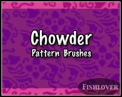 Chowder Brushes by Fishlover