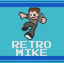 Retro Mike DroidX Desktop