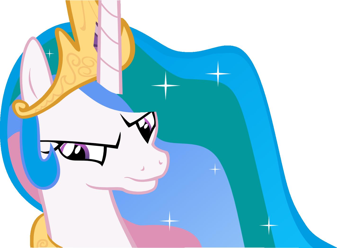 Celestia Of Disapproval (Princess Celestia Vector) by ShadowWeaver97
