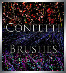 Confetti and Streamer Brushes by MorganBW