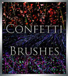 Confetti and Streamer Brushes