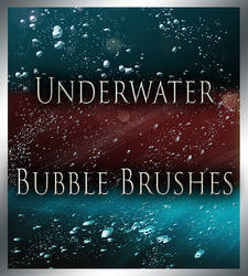Underwater Bubble Brushes