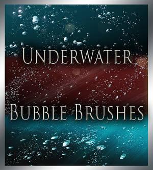 Underwater Bubble Brushes