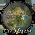 Civilization V 5 Game Icon by Zakafein