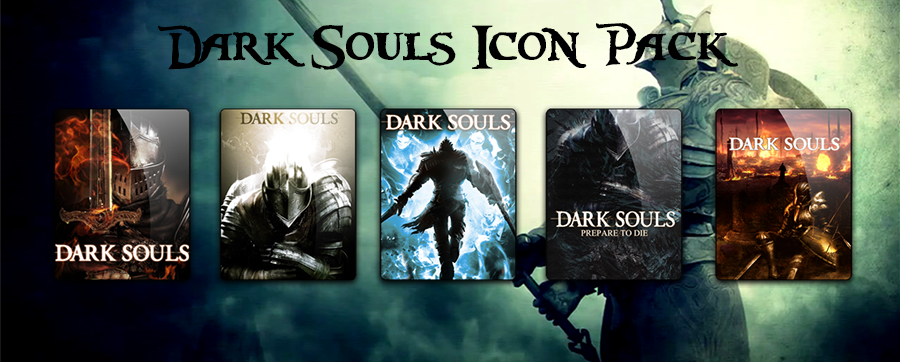 Dark Souls Icon Pack by Zakafein