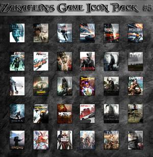 Zakafein's Game Icon Pack #6