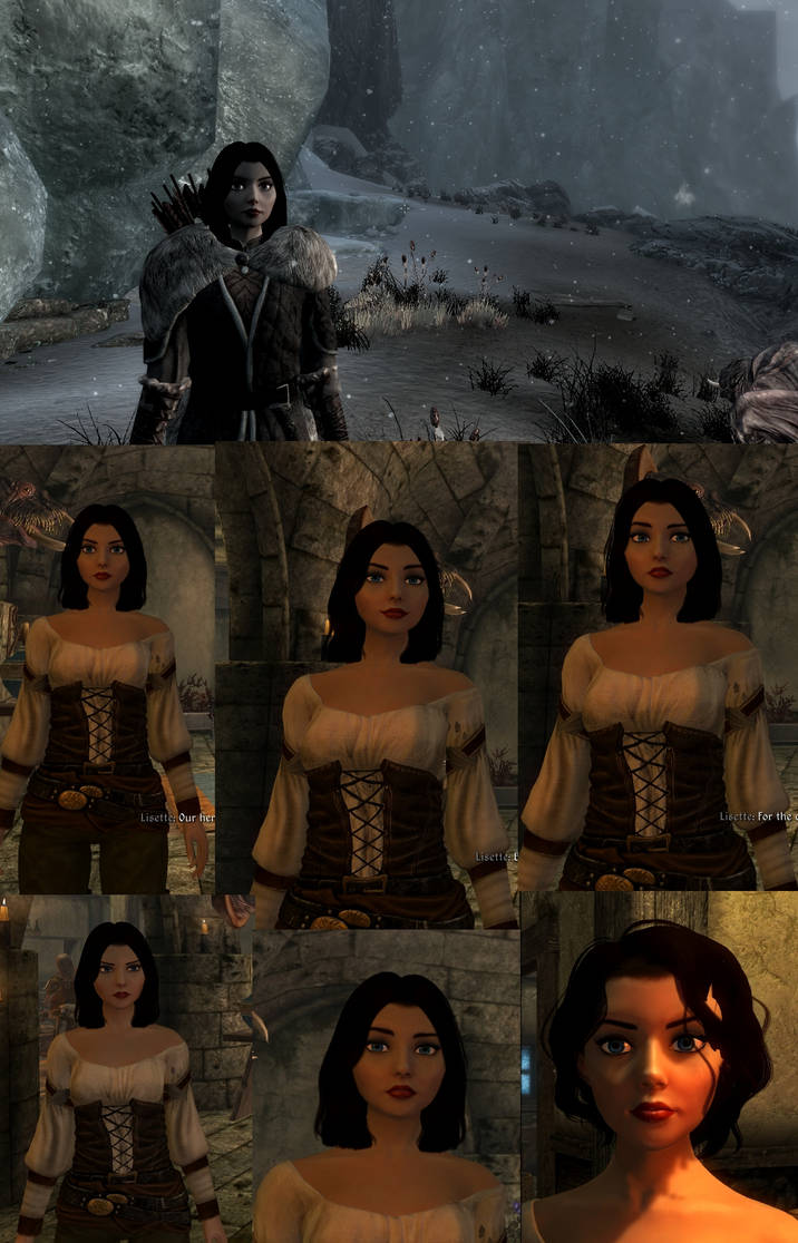 Elizabeth race for Skyrim by yscsn on DeviantArt