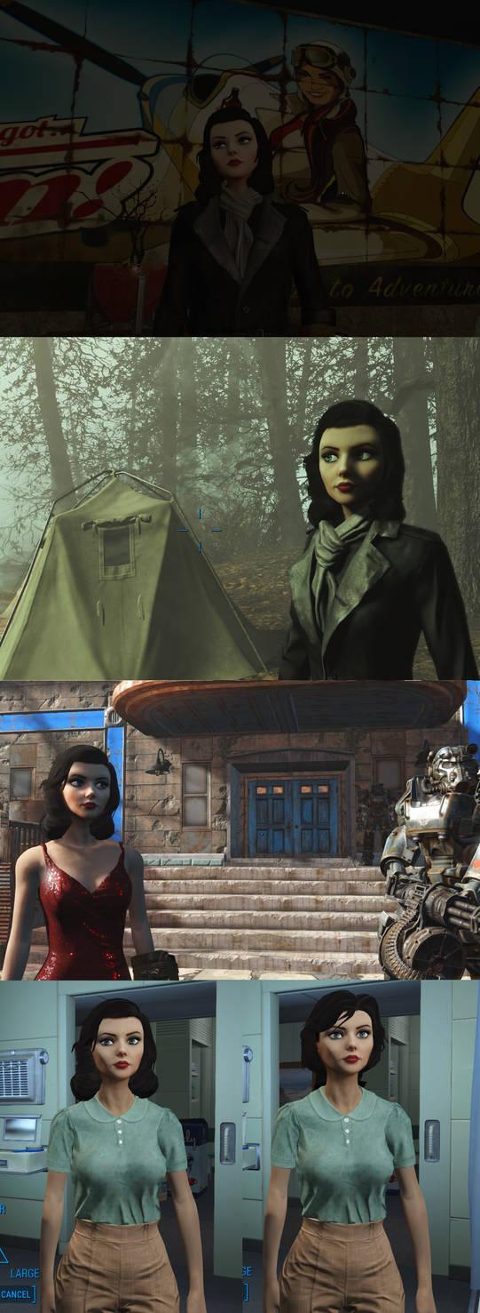 Elizabeth race for Fallout 4 by yscsn on DeviantArt