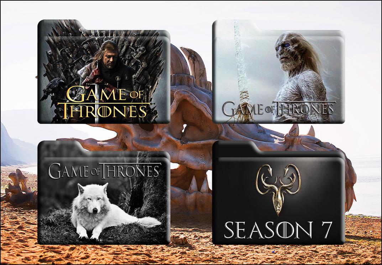 Game Of Thrones HD Folders (Mac And Windows) by Scottydog332