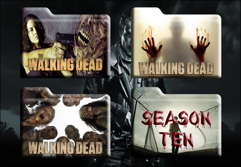 The Walking Dead HD Folders (Mac And Windows) by Scottydog332