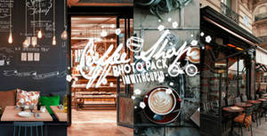 coffee shop photo pack