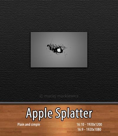 Apple Splatter by mackiewicz