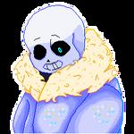 bad time - Sans animatied pixel icon - clickme F2U