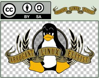 Arrogant Linux Elitist by ArchGamer