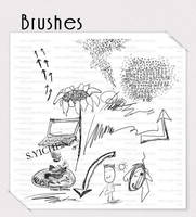 Brushes by shuihai