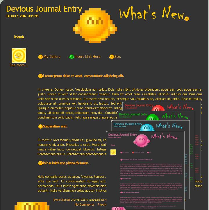EmotiJournal Journal CSS