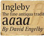 Ingleby Font