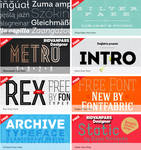 Fontfabric Fonts Collection | RdwN