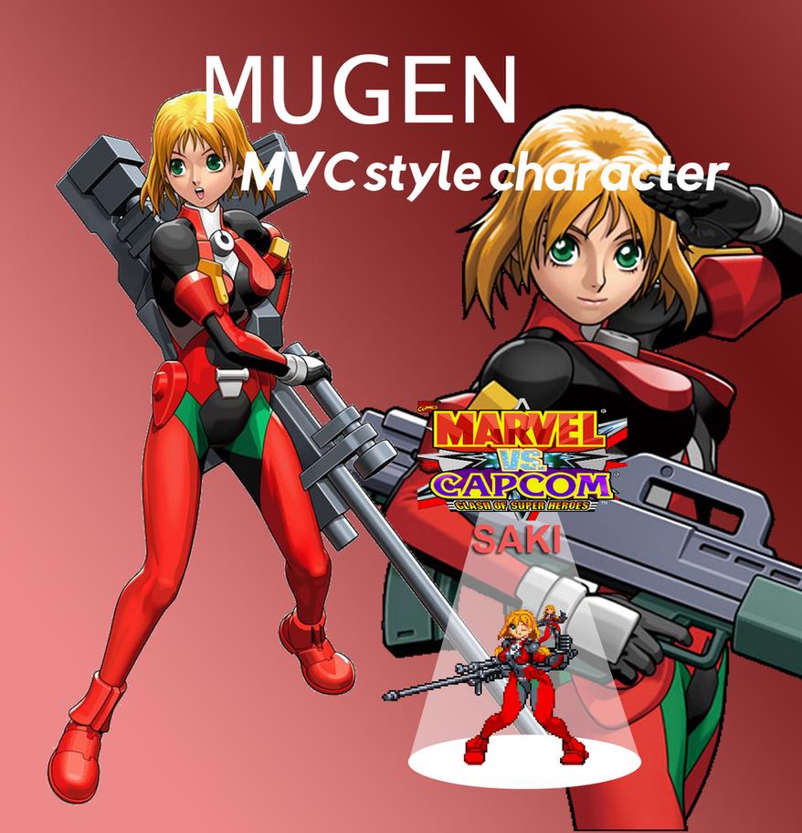 Saki MvC by simpleguyfa