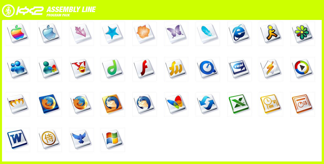 Assembly Line Program Pack V1 By Kngzero On DeviantArt