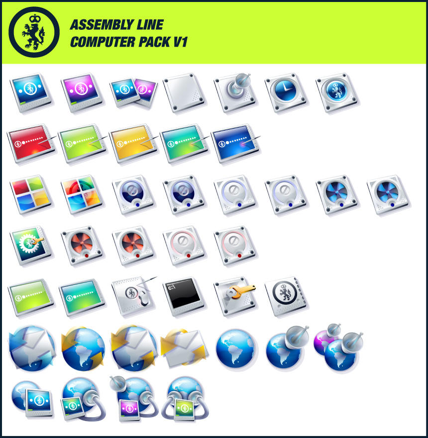 Assembly Line Computer Pack V1 by kngzero