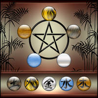 5 Elements Icons