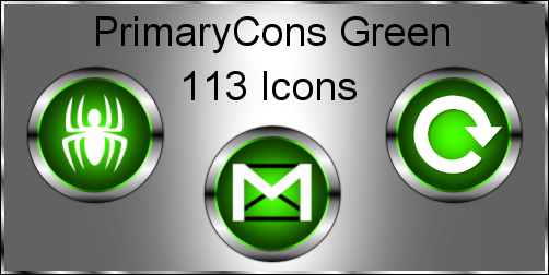 PrimaryCons Green for Mac by KenSaunders