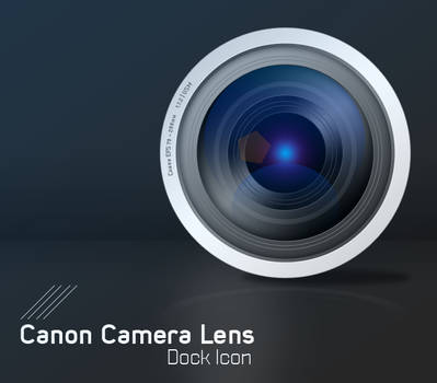 Canon Camera Lens Icon