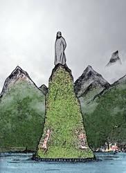 Taukamasu Statue by LavenderBlade