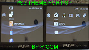 'UPDATE' PS3 theme for PSP
