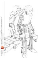 Drawtober Day - 01: Man-made by Huffnstuff