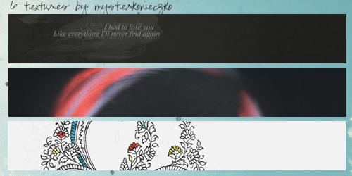 6 textures by mysterkonieczko