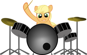 Drumming - animation by MoongazePonies