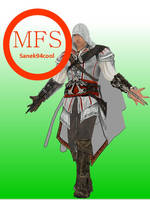 Ezio Auditore (AC II) Papercraft by Sanek94ccol