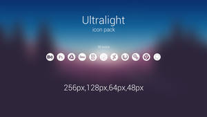 Ultralight icons