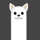 Pixel art - Doggo for my streams by Latyprod