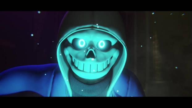 [Glitchtale] Sans - Animosity trailer scene 3D