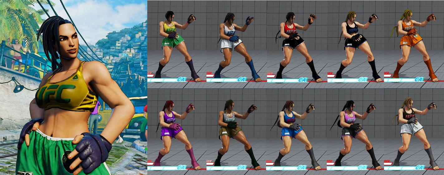 SF5 MMA Laura Mod by SleepingMaster