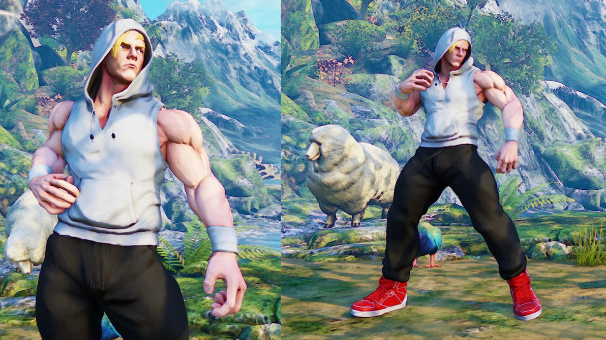 SFV: Ed Costume 2 (revised) by SleepingMaster