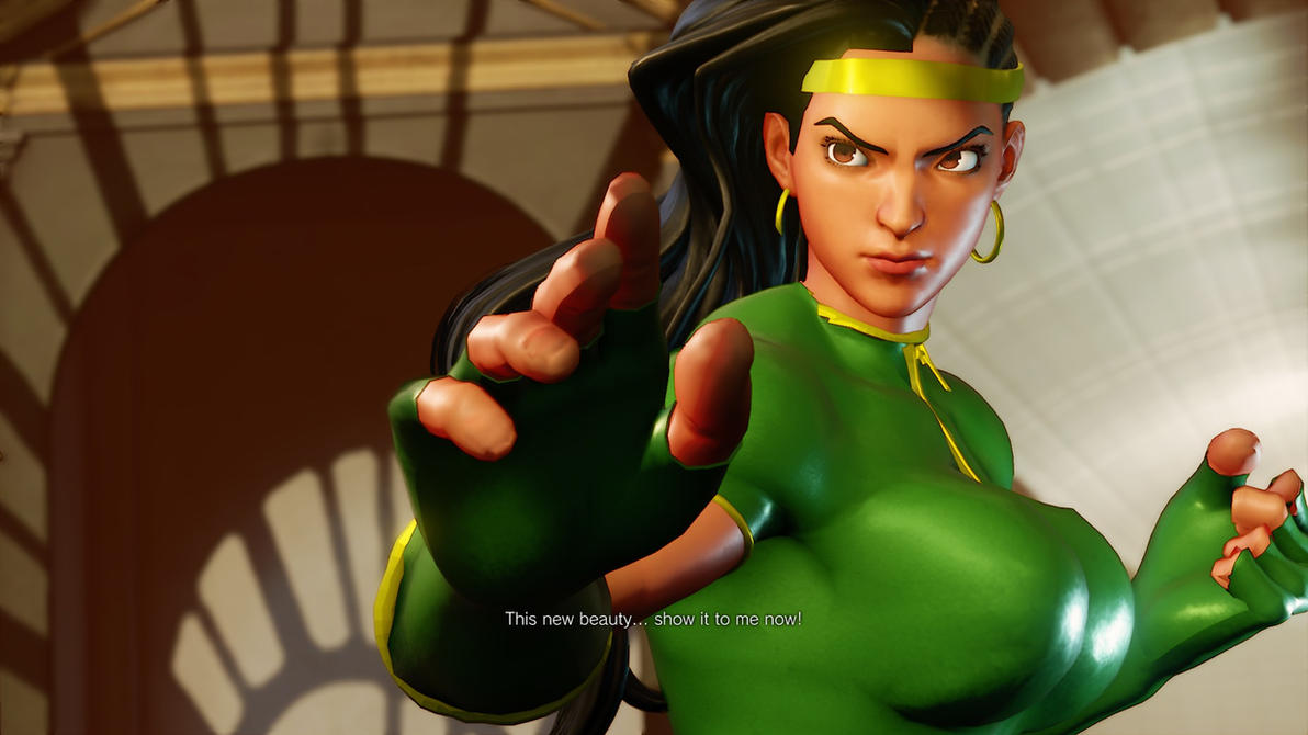 Laura is Orchid swap to Cammy C1 by SleepingMaster