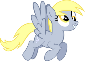 Flying Derpy Vector Gif by Xigger