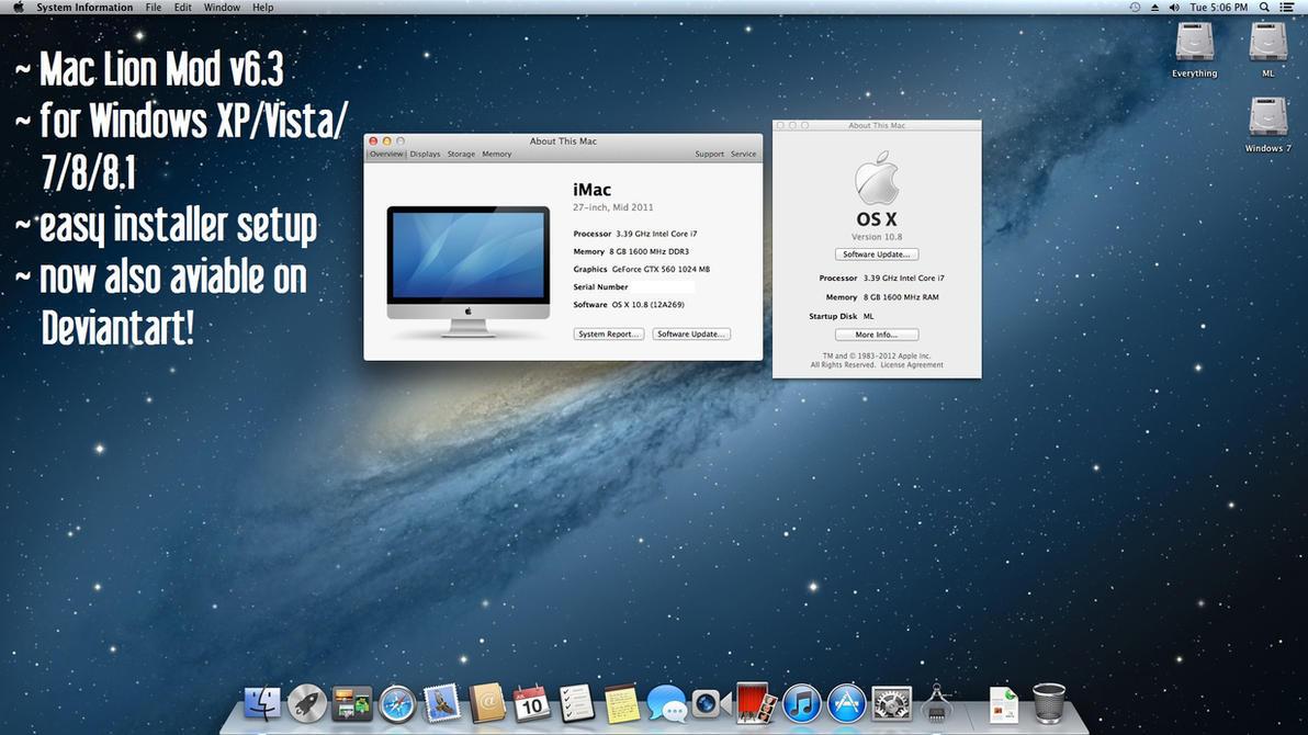 MacMod for Windows by EasyThemeInstaller