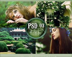 PSD 03 Green Eye by infidelibus