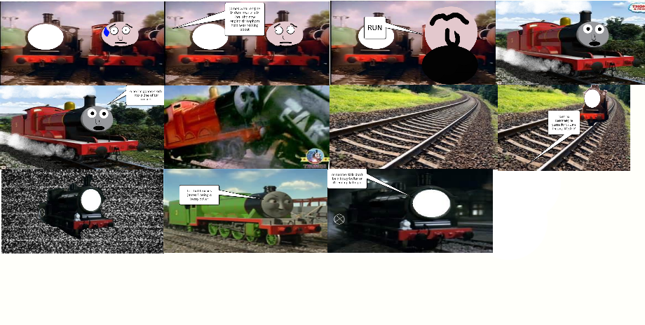 james and the slender engine comic by The-Hylian-Metalhead