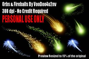 Orbs And Fireballs by VooDoo4u2nv