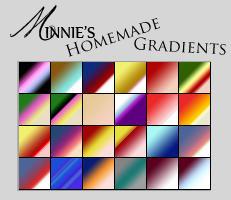 Minnie's Photoshop Gradients by FiskyFairytales