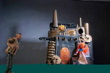 Sculpey models by LacedUpIllustration