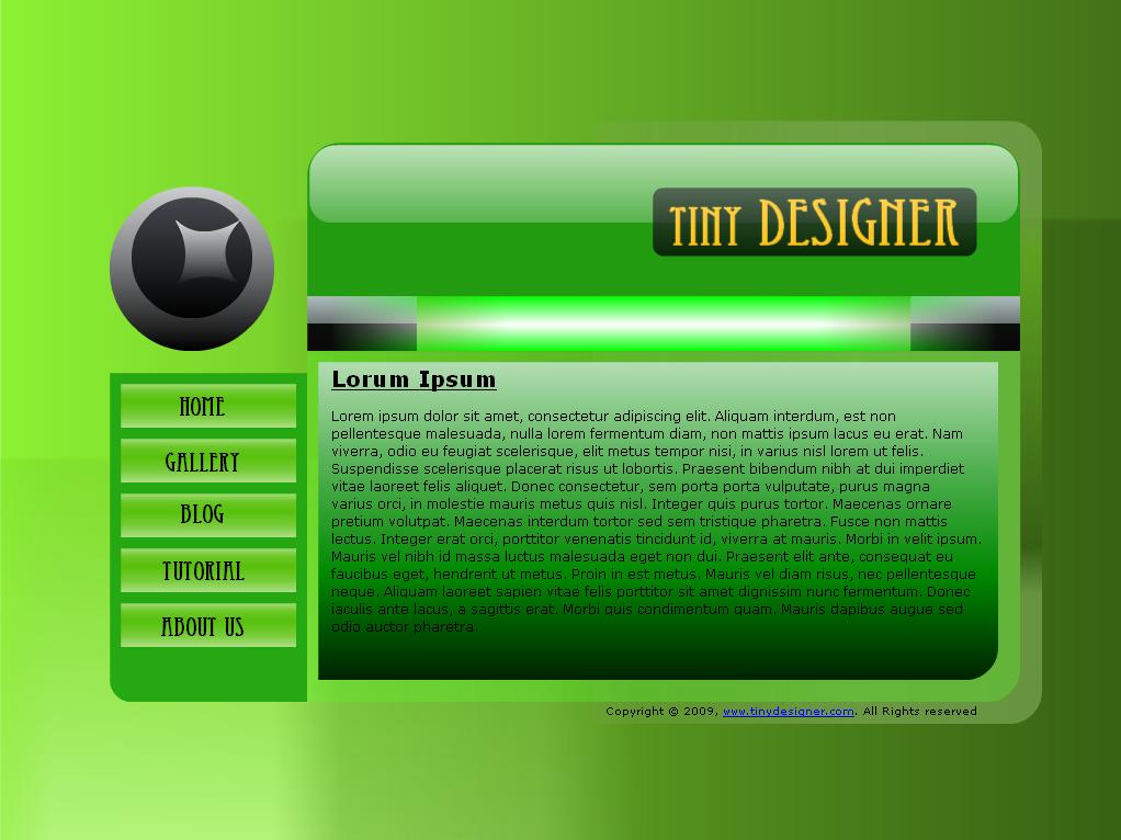 Dark Theme Web Designs