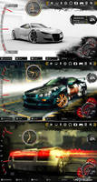 NFS for rainmeter